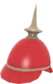 Painted Prussian Pickelhaube B8383B.png