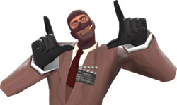 Saxxy Clapper Badge - Official TF2 Wiki   Official Team